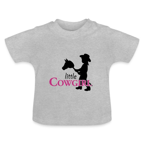 Little Cowgirl W - Baby T-Shirt - Baby T-Shirt