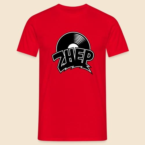 ZHEP T-Shirt Herren / 2-farbiger Flexdruck schwarz/weiss - Männer T-Shirt