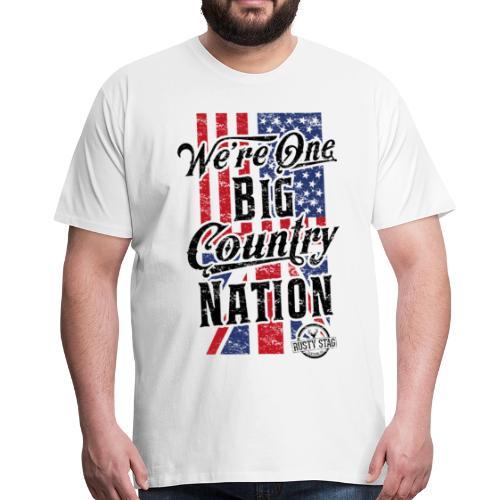 Country Nation Tee - Men's Premium T-Shirt