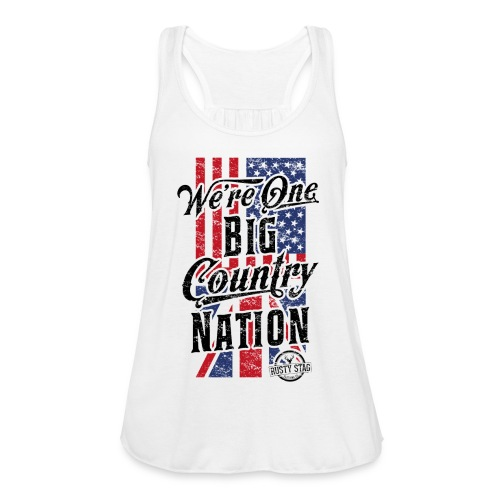 Country Nation Ladies Racer - Women's Tank Top by Bella