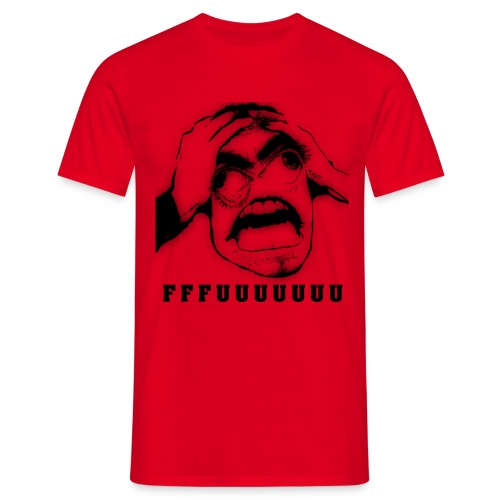 FFFUUUUUUU - Miesten t-paita