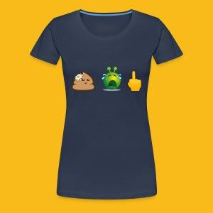 Woman: Aua-Shirt - Frauen Premium T-Shirt