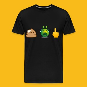 Man: Aua-Shirt - Männer Premium T-Shirt