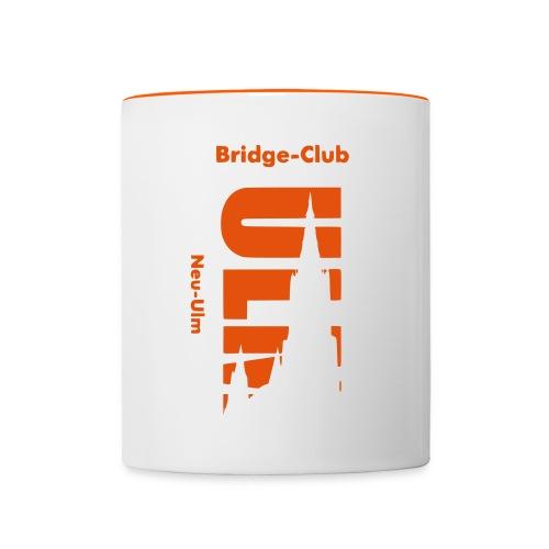 Bridgeclub - Tasse - Tasse zweifarbig