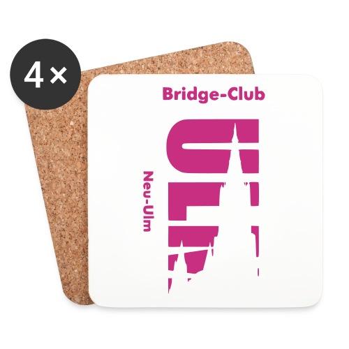 Bridgeclub - Untersetzer - Untersetzer (4er-Set)