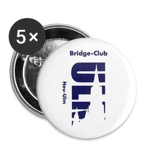 Bridgeclub - Schmuck - Buttons mittel 32 mm (5er Pack)