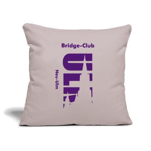 Bridgeclub - Kissen - Sofakissenbezug 44 x 44 cm