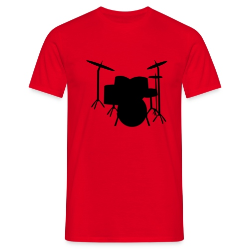 batterie - T-shirt Homme