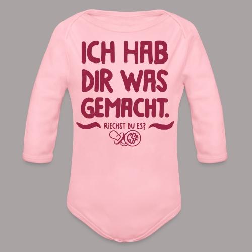 Ich Hab Dir Was Gemacht - Baby Bio-Langarm-Body