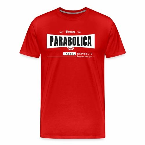 Racing Republic - Parabolica - T-shirt Premium Homme