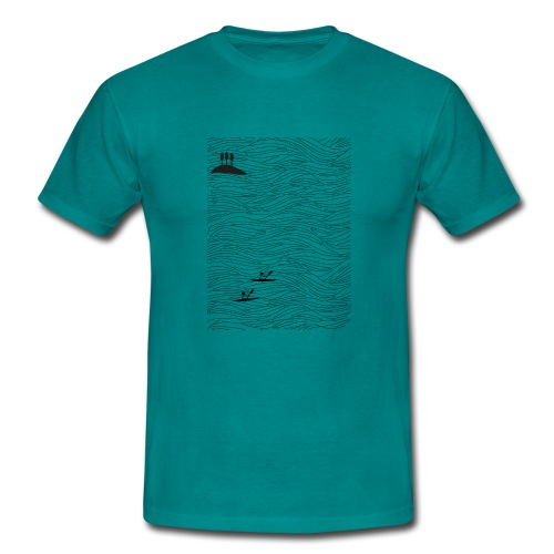 Böljande hav - herr - T-shirt herr