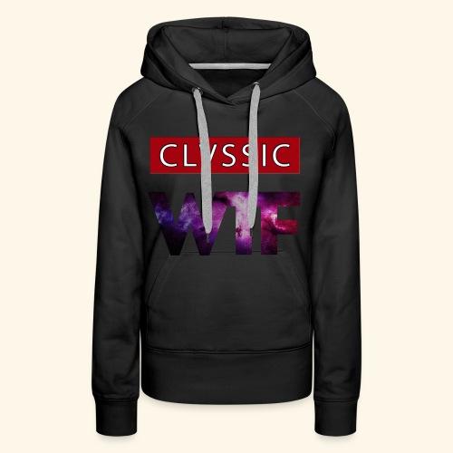 CL WTF - Frauen Premium Hoodie
