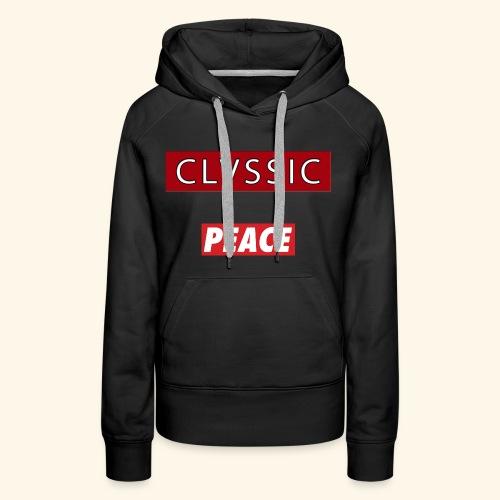 CL Peace - Frauen Premium Hoodie