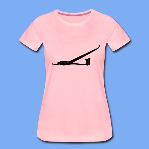 ASW28 Segelflugzeug glider - Women's Premium T-Shirt