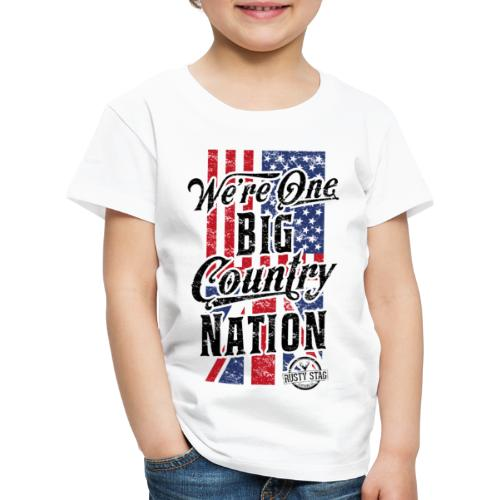 Country Nation Kiddies - Kids' Premium T-Shirt