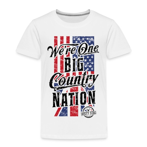 Country Nation Kiddies - Kids' Premium T-Shirt