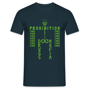 PROHIBITION (GREEN) - Men's T-Shirt