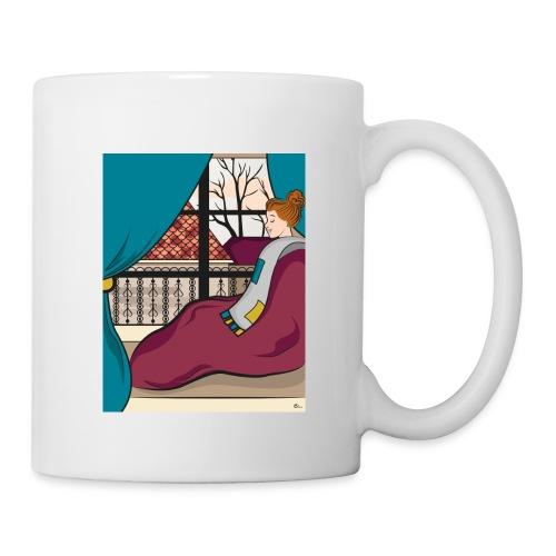"Tasse Moment cocooning"" - Mug blanc"