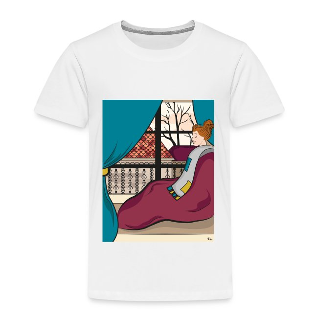 "T-shirt Enfant ""Moment cocooning"""