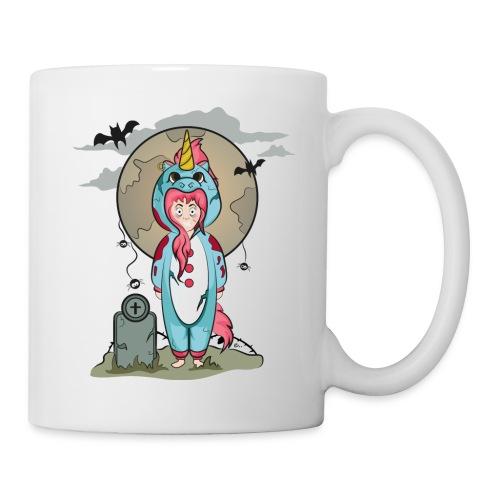 "Tasse Licorne Halloween"" - Mug blanc"