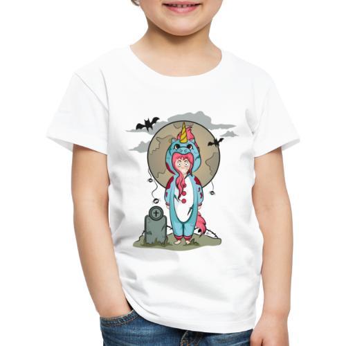 "T-shirt Enfant ""Licorne Halloween"" - T-shirt Premium Enfant"