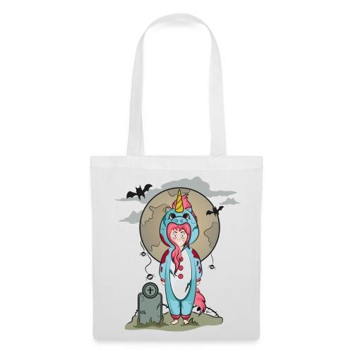 "Tote bag Licorne Halloween"" - Tote Bag"