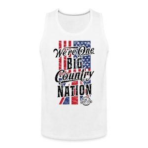 Country Nation Mens Tank - Men's Premium Tank Top