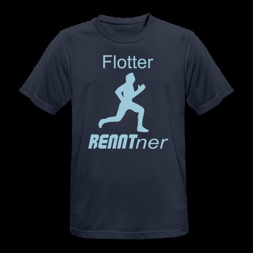 Sportlicher Rentner Ruhestand Geschenk T-Shirts - Männer T-Shirt atmungsaktiv