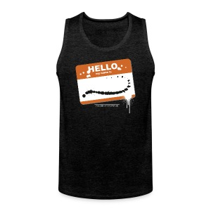 Hello my name is - Männer Premium Tank Top