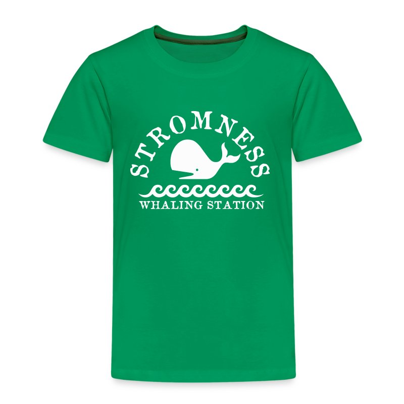 Sromness Whaling Station - Kids' Premium T-Shirt
