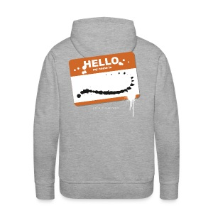 Hello my name is - Männer Premium Hoodie