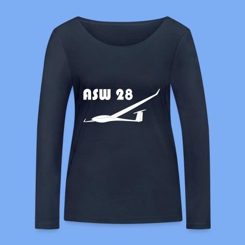 ASW28 Segelflugzeug glider - Women's Organic Longsleeve Shirt by Stanley & Stella