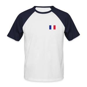 tshirt made in france  - T-shirt baseball manches courtes Homme