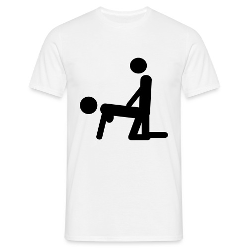 i love to ....... - T-skjorte for menn