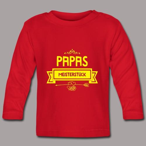 Papas Meisterstück - Baby Langarmshirt