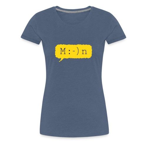 Moin Frauen Premium T-Shirt - Frauen Premium T-Shirt