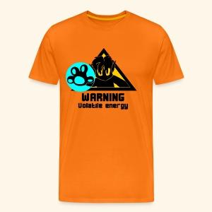 Volatile Energy - Men's Premium T-Shirt