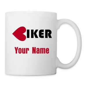 Mug - Biker (add your own name) - Mug