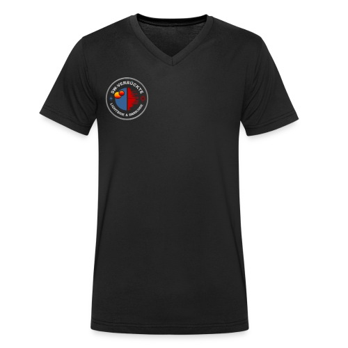 Männer V-Ausschnitt-Shirt - Männer Bio-T-Shirt mit V-Ausschnitt von Stanley & Stella