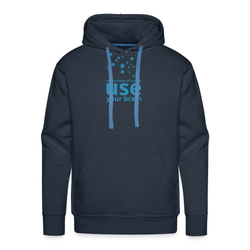 united states of europe - use your brain  - Männer Premium Hoodie