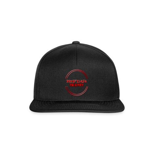 MFDW Logo Snapback full black - Snapback Cap