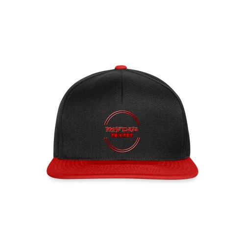 MFDW Logo Snapback black and red - Snapback Cap