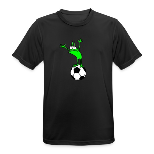 Football Kobold Men Sports Shirt black - Men's Breathable T-Shirt