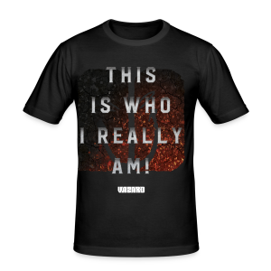 Who I Really Am Slim [Mens] - Men's Slim Fit T-Shirt