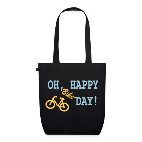 Bio-Stoffbeutel: Oh Happy Bike Day - Bio-Stoffbeutel