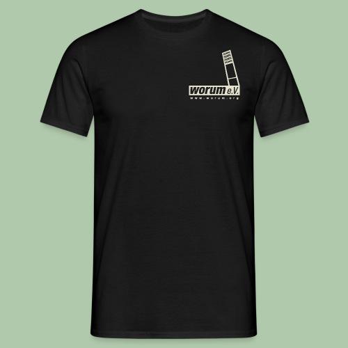 Worum e.V. T-Shirt freie Farbwahl - Männer T-Shirt
