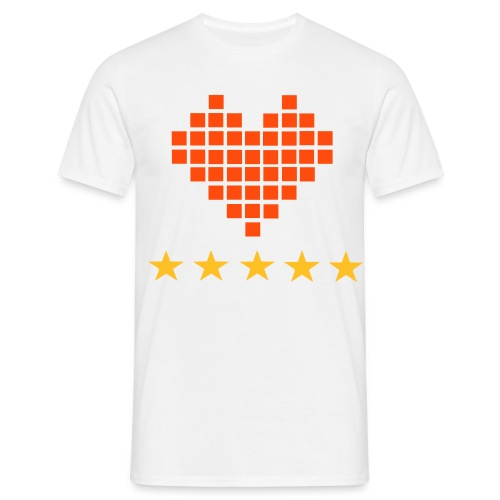 Love star - Herre-T-shirt