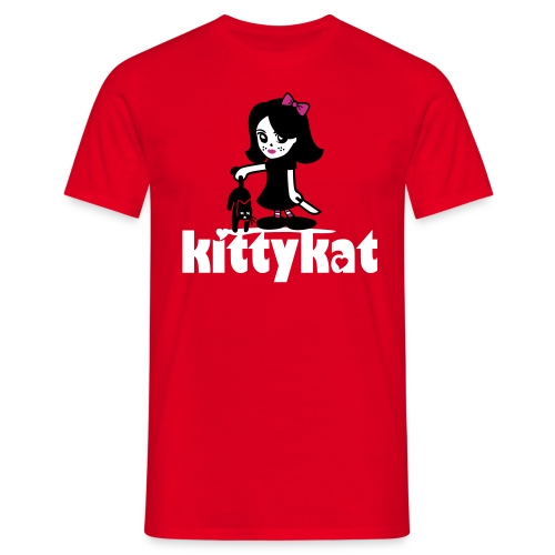 kittykat - T-skjorte for menn