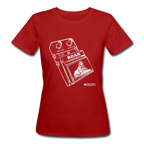 Nottingham lion guitar pedal print - Women's Organic T-Shirt