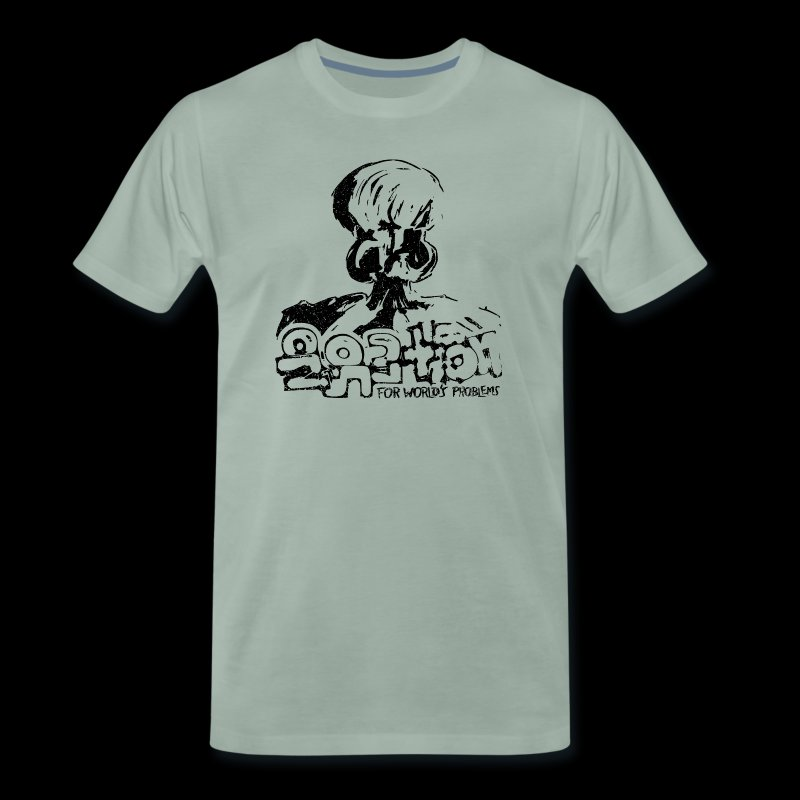 No Solution (black oldstyle) - Männer Premium T-Shirt